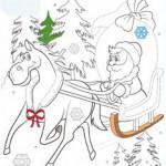 Рисование по точкам для детей