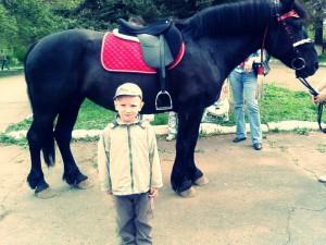 27. Данил (5 лет). Лошадка лошадка прокати меня! давай лошадка с ветерком !помчимся мы с тобой!!!!