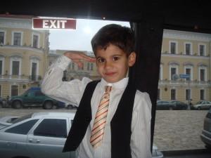 53. Богдан (5 лет) Служу Отечеству!