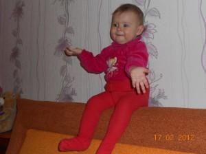 7. Полина Ехлакова (1 год)