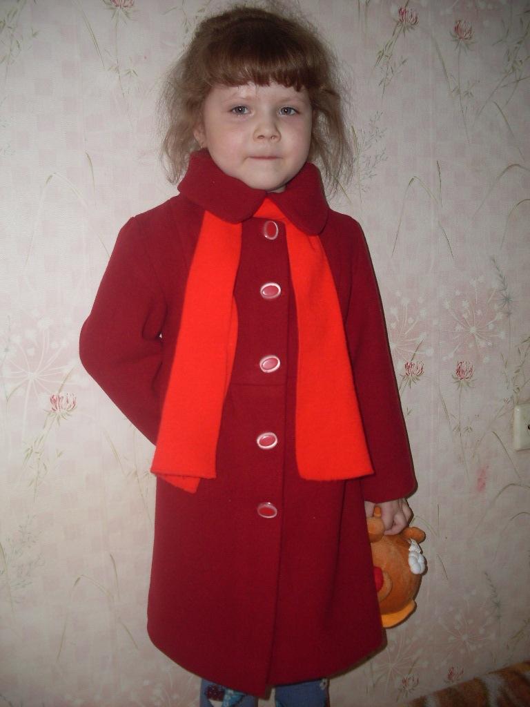 Пошить пальто для девочки