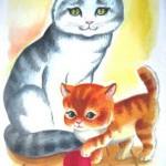 Раскраски для детей. Домашние животные