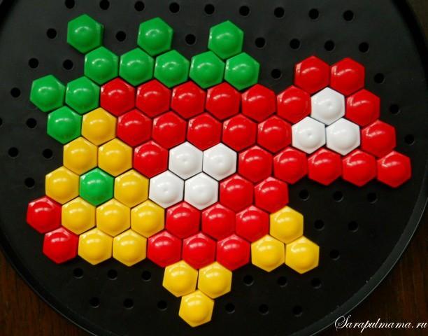 схема узор детской мозаики