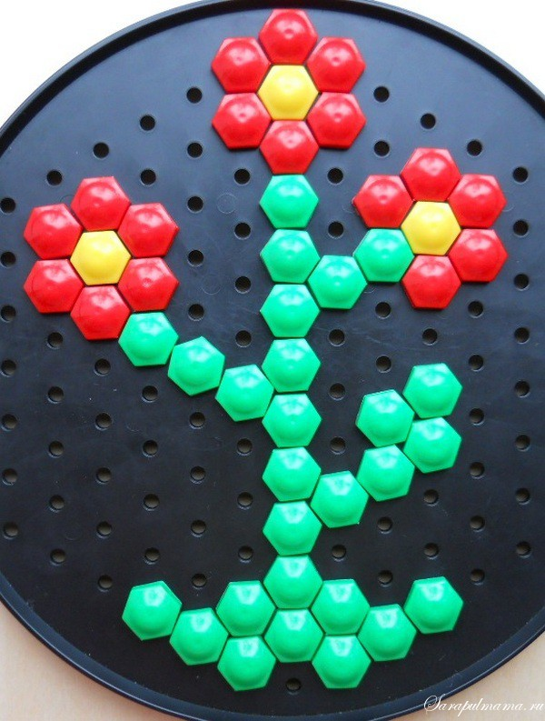 Схема мозаики для детей фото 123