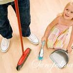 как приучить ребёнка выполнять домашнюю работу
