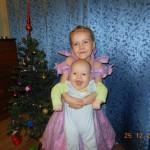 11. Настасья (5 лет), Константин (5 мес). Новый год - самый волшебный праздник!!!