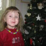 15. Лиза (2 года).  К встрече Нового года готовы!