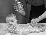 Опрелости у ребенка