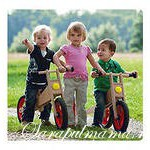 Велосипед для ребенка и родителей