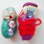 мылышки-кагоньки из пластилина