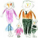 Интерпретация мотивов детских рисунков