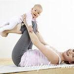 Фитнес для мам с ребенком в домашних условиях