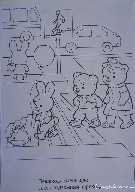 Раскраска для детей петушок