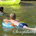 Научите ребенка поведению в воде