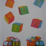 Развивающие тесты для детей 3-4 лет. Подготовка к обучению грамоте