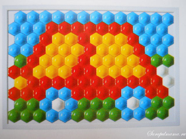 схема мозаики 10