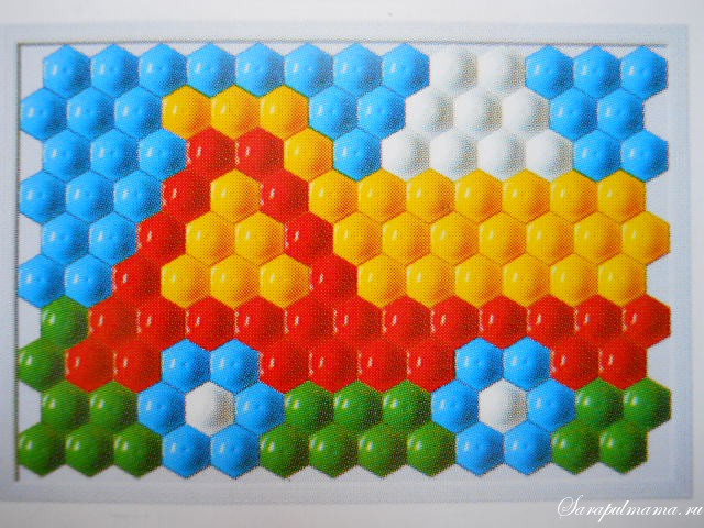 схема мозаики 11