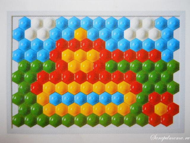 схема мозаики 14