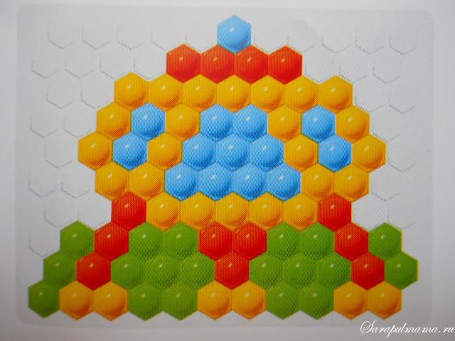 схема мозаики 15