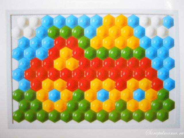 схема мозаики 16