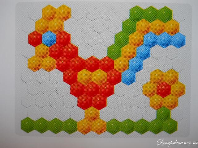 схема мозаики 17