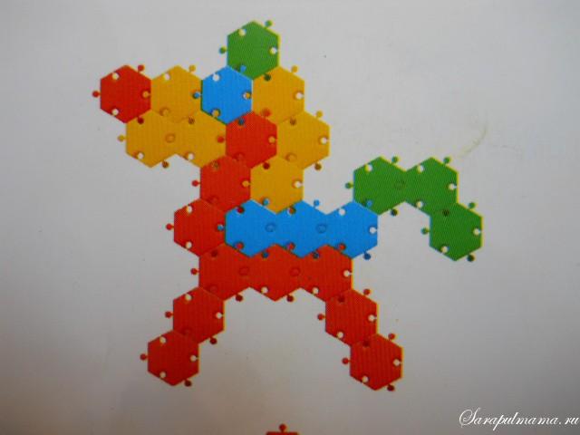 схема мозаики 19