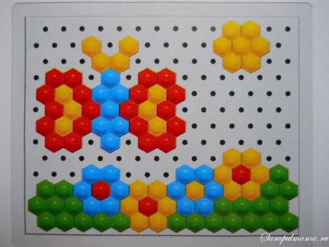 схема мозаики 23