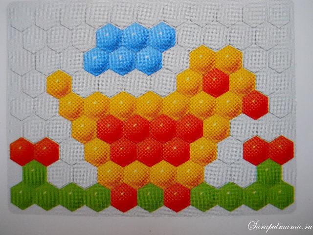Схема мозаики для детей фото 947