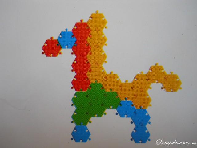 схема мозаики 25