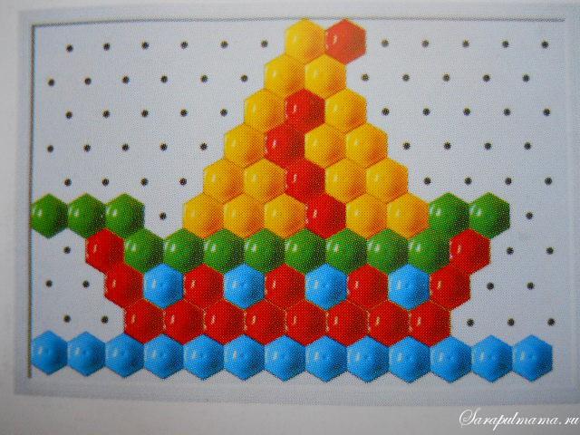 схема мозаики 26