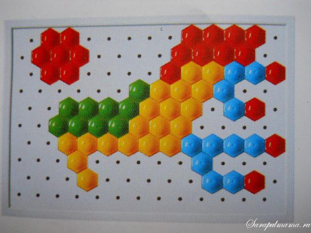 схема мозаики 27