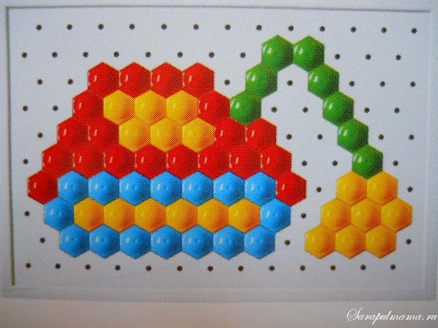 Схема мозаики для детей