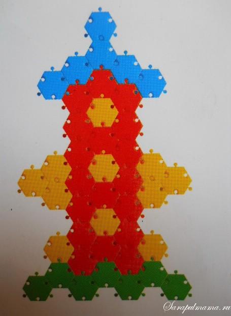 схема мозаики 35