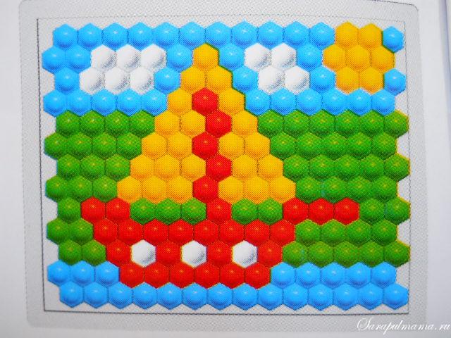 схема мозаики 4