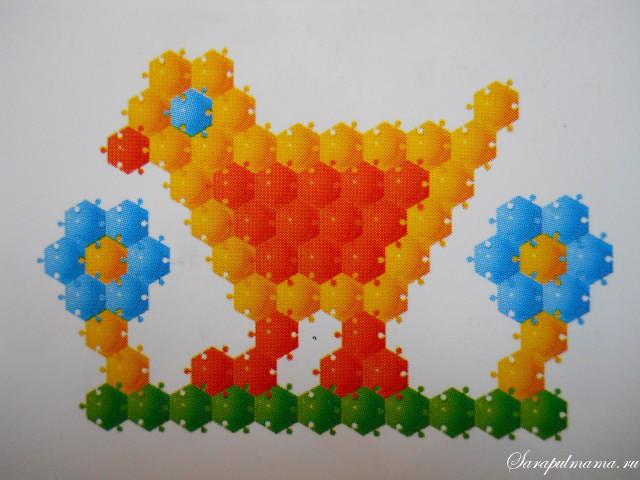 схема мозаики 7