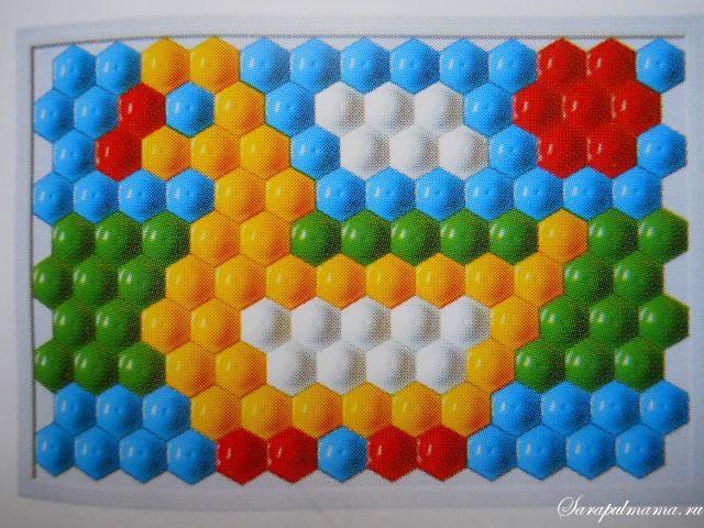 схема мозаики 8