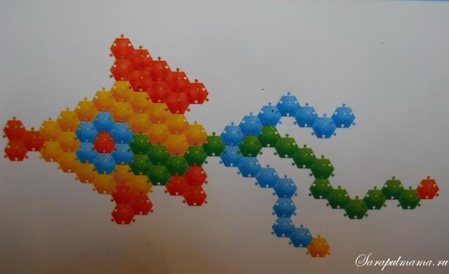 схема мозаики 9