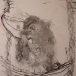 рисунки ребенка 3-4 лет Галчонок