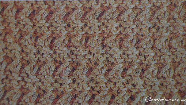 простые схемы вязания спицами рукоделие