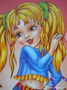 """Раскраски для девочек """"Куколки"""""""