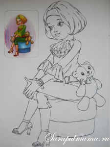 Раскраски для девочек