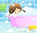 Игры в ванне для детей