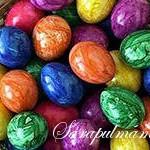 Красим и украшаем пасхальные яйца