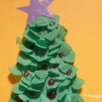 Как сделать новогоднюю открытку Елочка вместе с ребенком