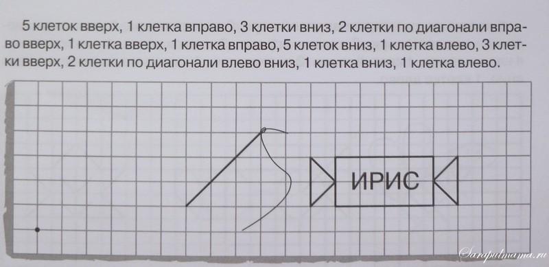 Графические диктанты для дошкольников
