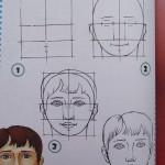 Уроки рисования. Рисуем поэтапно Человека