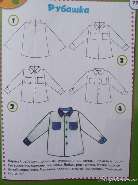 Учимся Рисовать Одежду